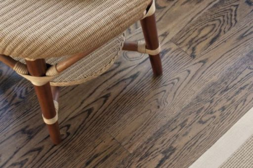 Oak with a custom stain at another big renovation in Marmion.