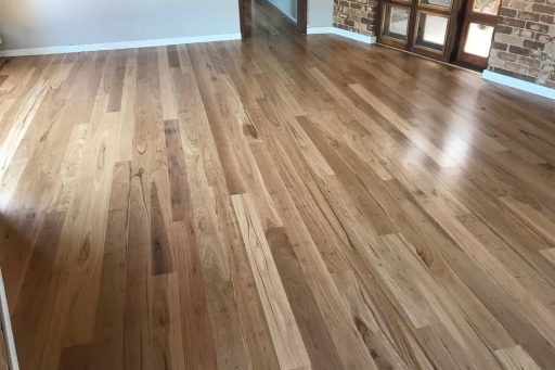 This cost effective short spec Blackbutt floor came up sensational!