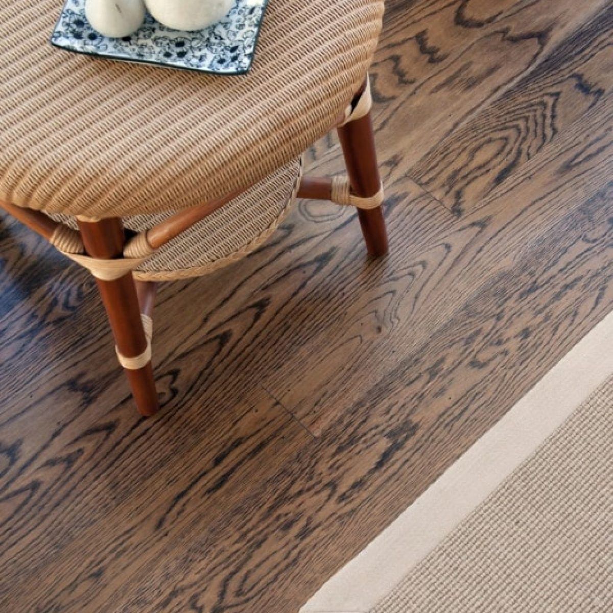 American Oak Stained Chocolate