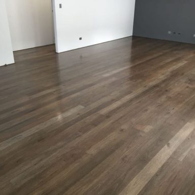 Spotted Gum Stained Ebony