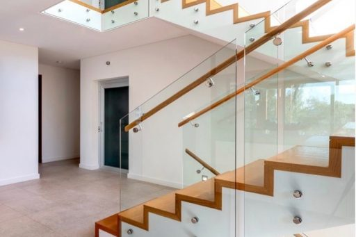 A beautiful home built by @luxus.homes and we were lucky enough to help them out with the staircase!