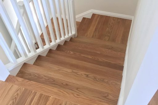A nice little Oak staircase done for some great clients recently!!! #artoftimber #timberfloors #timberstaircase #timber #sherwoodflooring